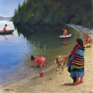 """Afternoon at the Lake""          2nd version"